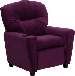 flash furniture kiddie microfiber recliner