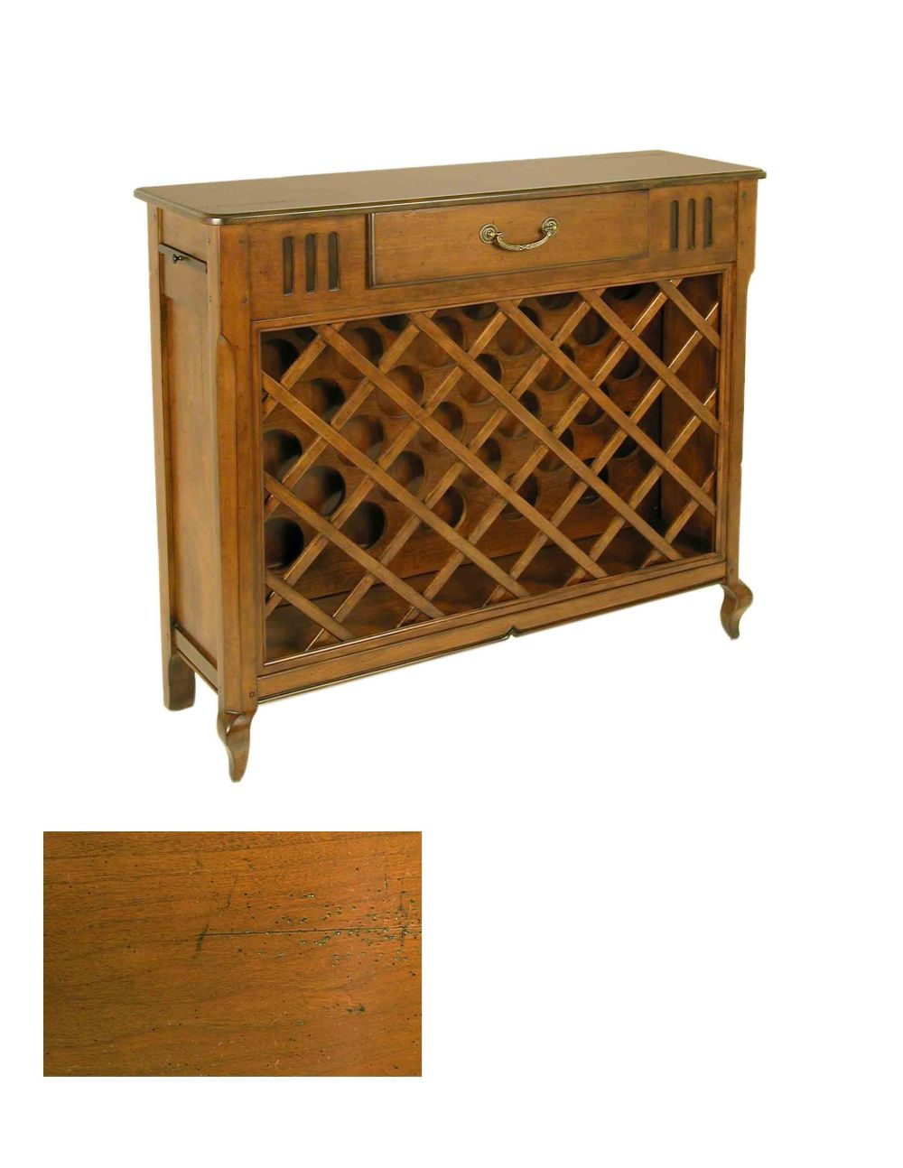 Wine rack/console from Accents Beyond