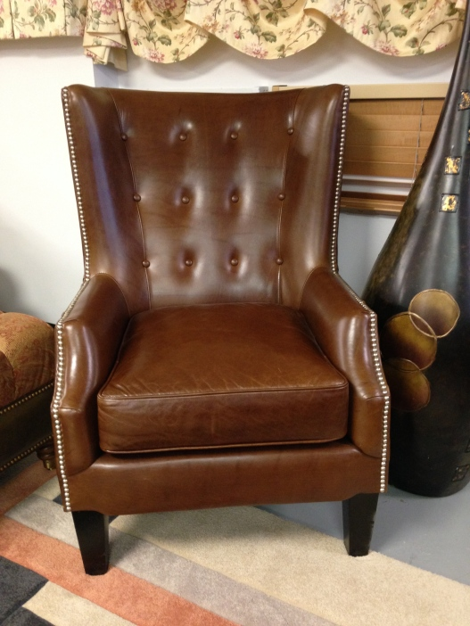 Legacy Leather Mariana Leather Chair. FLOOR MODEL SALE: $1,245.99 (Reg. 2745.00)