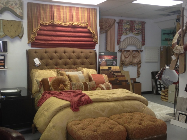 Tufted Queen bed by Taylor King. SALE: $1,971.00 (Reg. $4,380.00 )