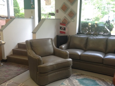 Tuscon Sofa SALE: $943.65 (Reg. $2,097.00 ), Loveseat SALE: $916.65 (Reg. $2,037.00 ), Chair SALE: $606.15 (Reg. $1,347.00 ) by Leather Italia USA