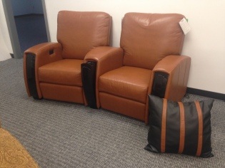 Jaymar home Theater Chairs - One motorized SALE: $3,327.75 (Reg. $7,395.00) )