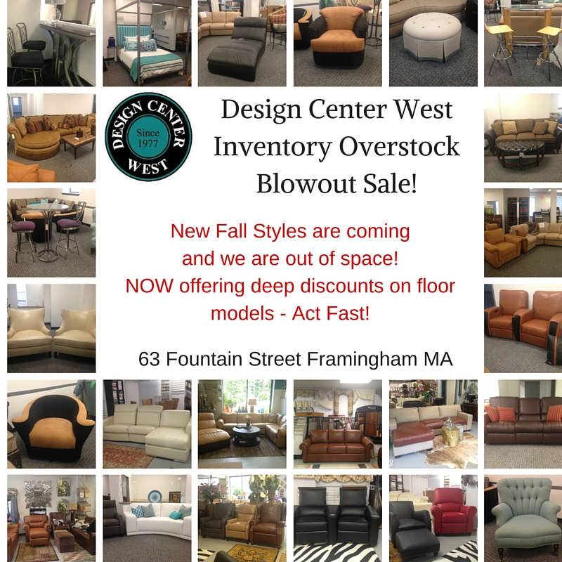 Design Center WestInventory Overstock Blowout-1